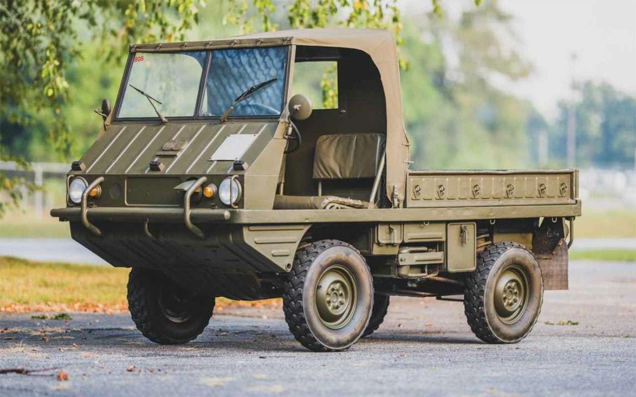 Могучий клещ, тот самый Willys, Hummer...— аукцион военных автомобилей— фото 1104422