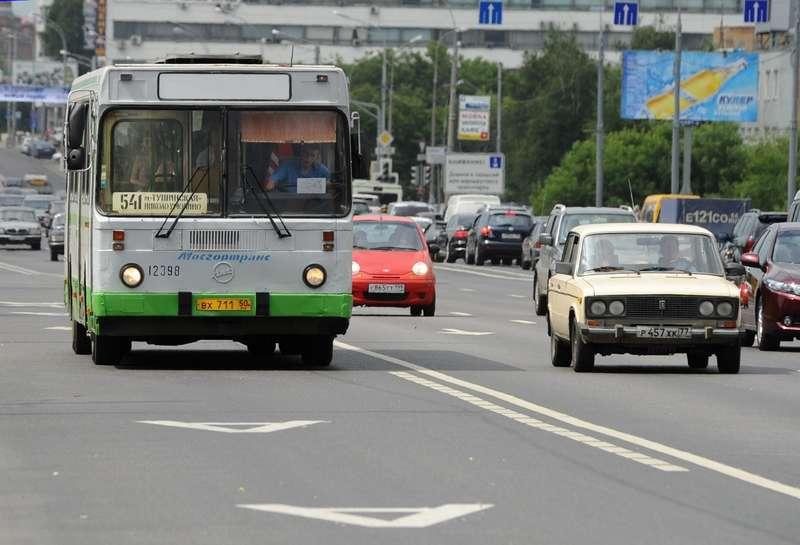 Видеорегистраторы намосковских автобусах начали фиксировать нарушения на«выделенках»