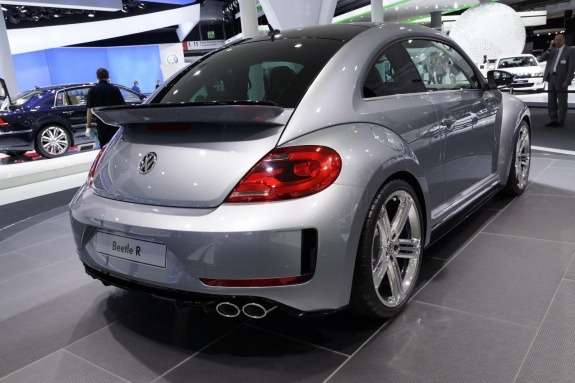 Volkswagen Beetle R concept side-rear view