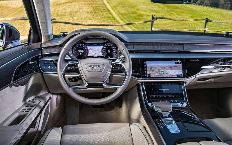Какие опции могут спасти новый Audi А8в России?