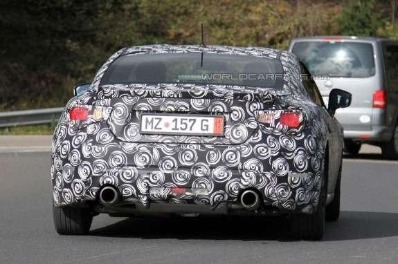 Subaru BRZ side-rear view