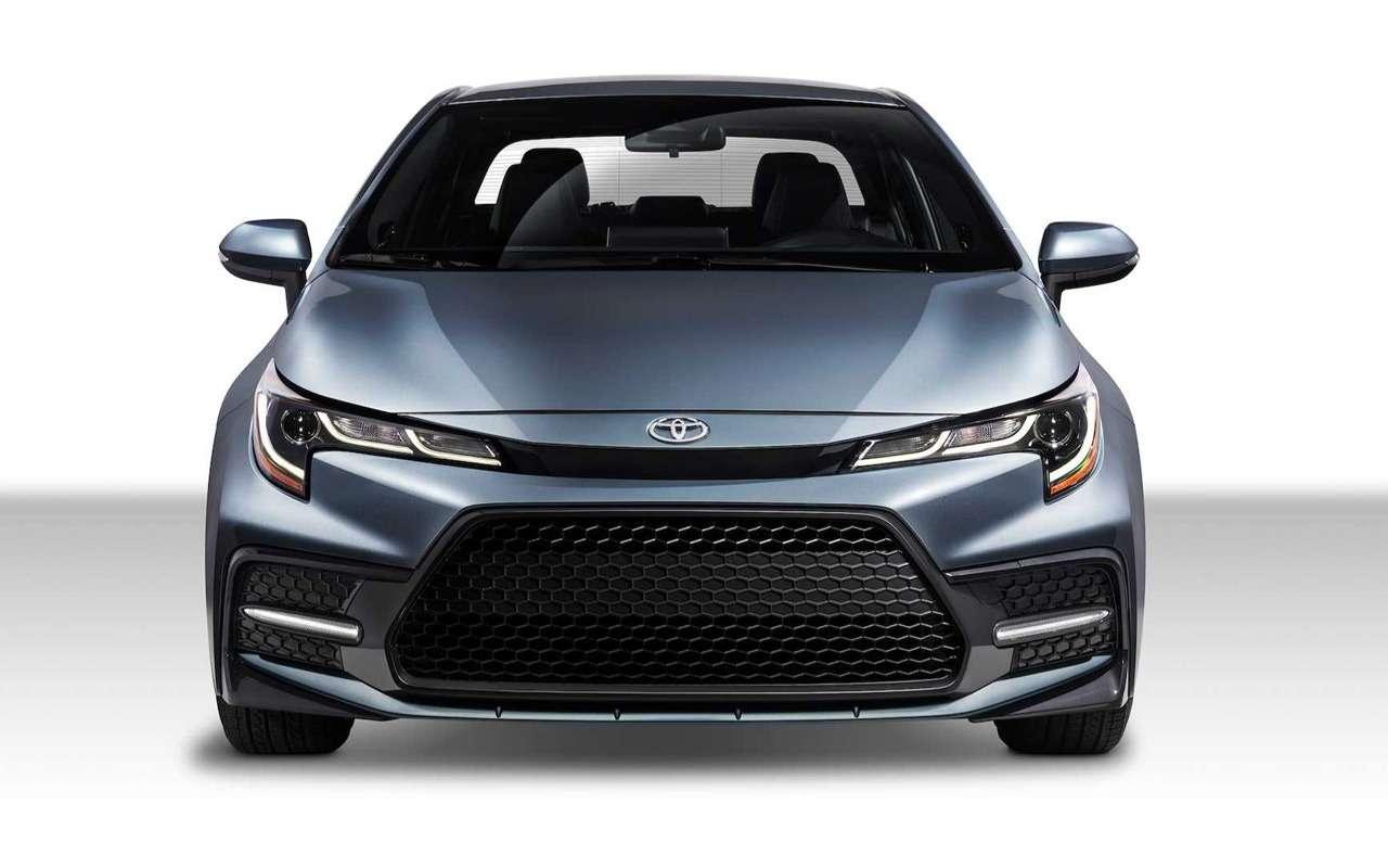 Toyota показала новую Короллу— фото 923266