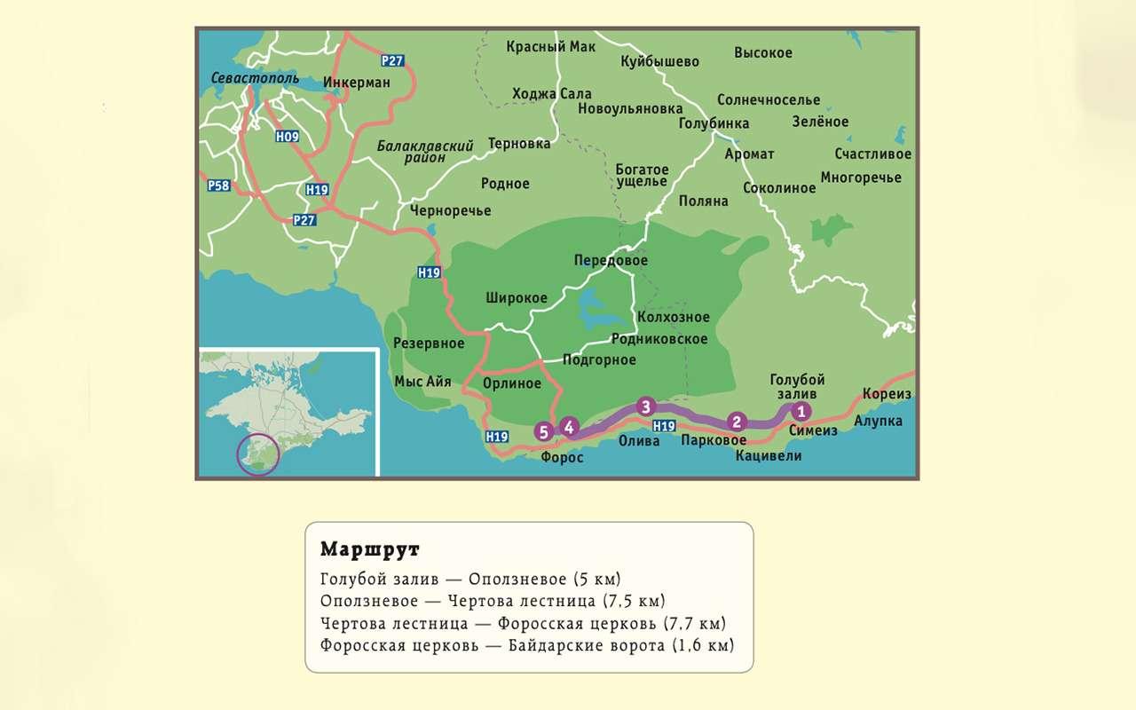 Старая севастопольская дорога— лучший маршрут дляпутешествия— фото 1153460