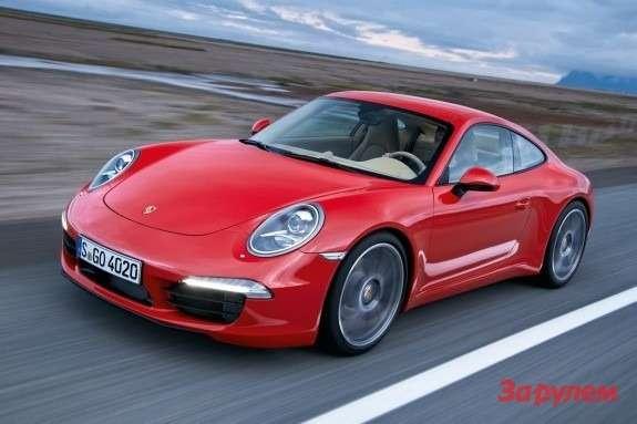 Porsche 911 Carrera side-front view