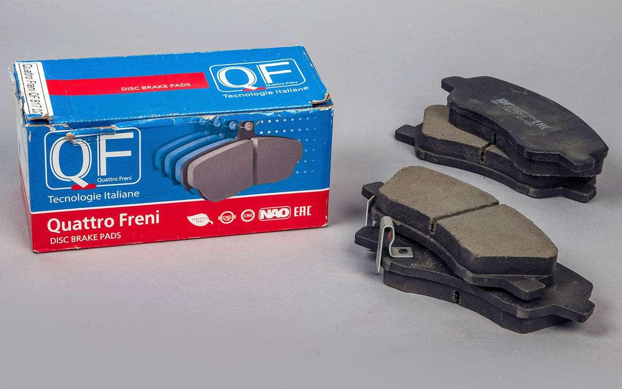 Проверили тормозные колодки: каждая третья опасна дляжизни!— фото 1256201