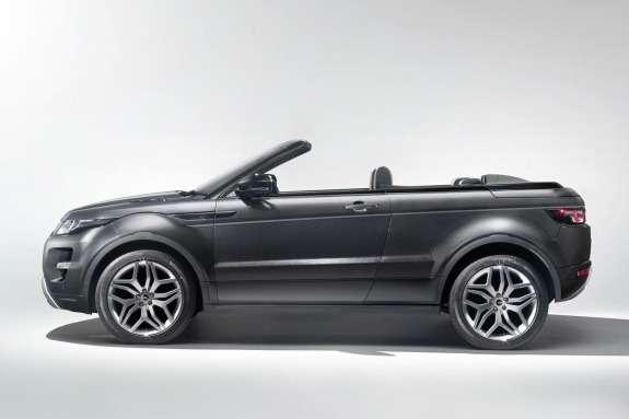 Land Rover Range Rover Evoque Convertible Concept side view