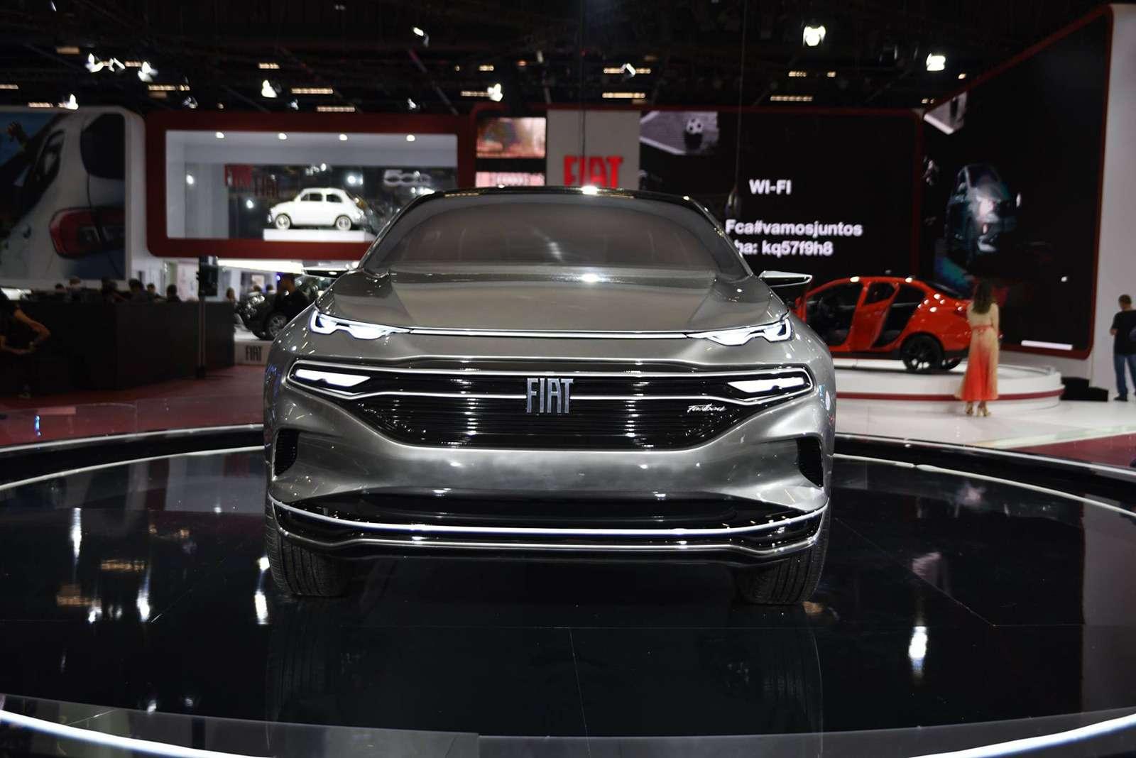 Fiat показал купе-кроссовер. Это будущий конкурент Renault Arkana!— фото 920718