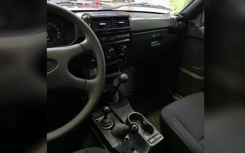 Лада 4х4с новым салоном — первое фото серийного авто