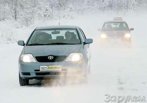 Парк ЗР: Toyota Corolla, Mitsubishi Lancer. Накосмодром!— фото 53937