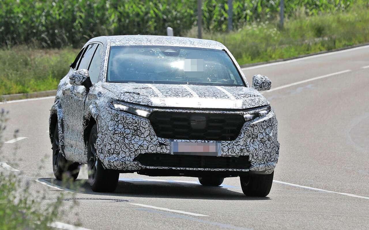 Honda CR-V нового поколения выехала натесты— фото 1270743