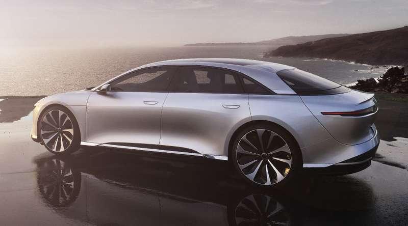 Компания Lucid Motors назвала цены своего электрического седана для рынка Соединенных Штатов Америки