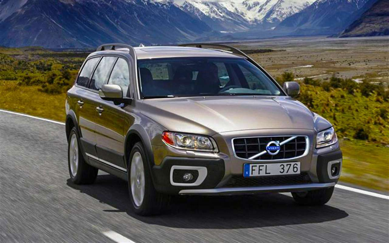 Универсал Volvo V60 Cross Country— тест наснегу ильду— фото 950860