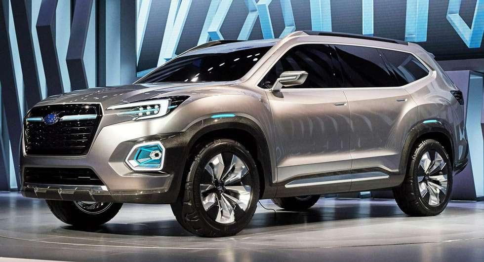 Гигант оппозиции: Subaru Viziv-7SUV Concept намекнул набольшой серийный кроссовер— фото 665592