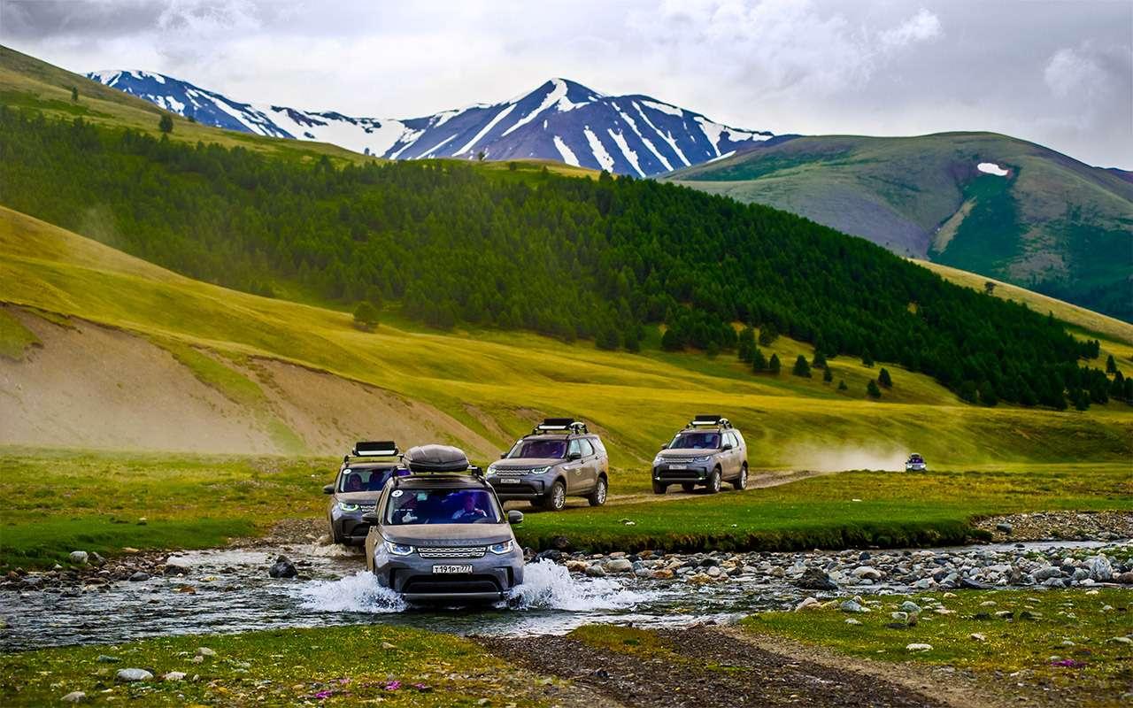 Новый Land Rover Discovery— проверка российским бездорожьем— фото 795270