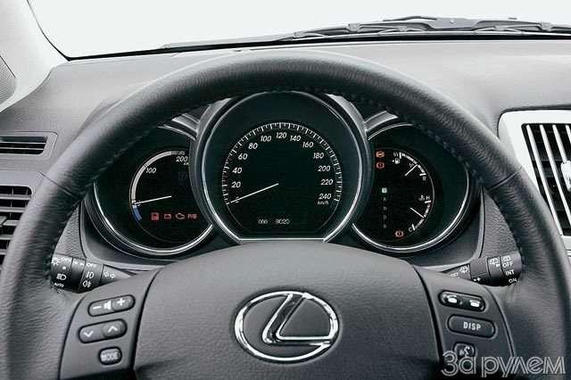 Lexus RX400h. Электросила— фото 57039