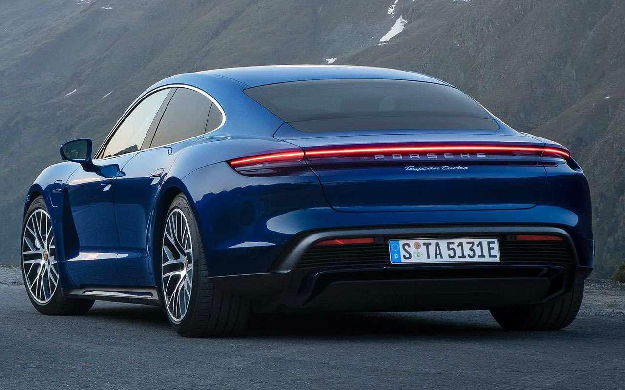 Porsche, как удар током— представлен новый Taycan— фото 994932