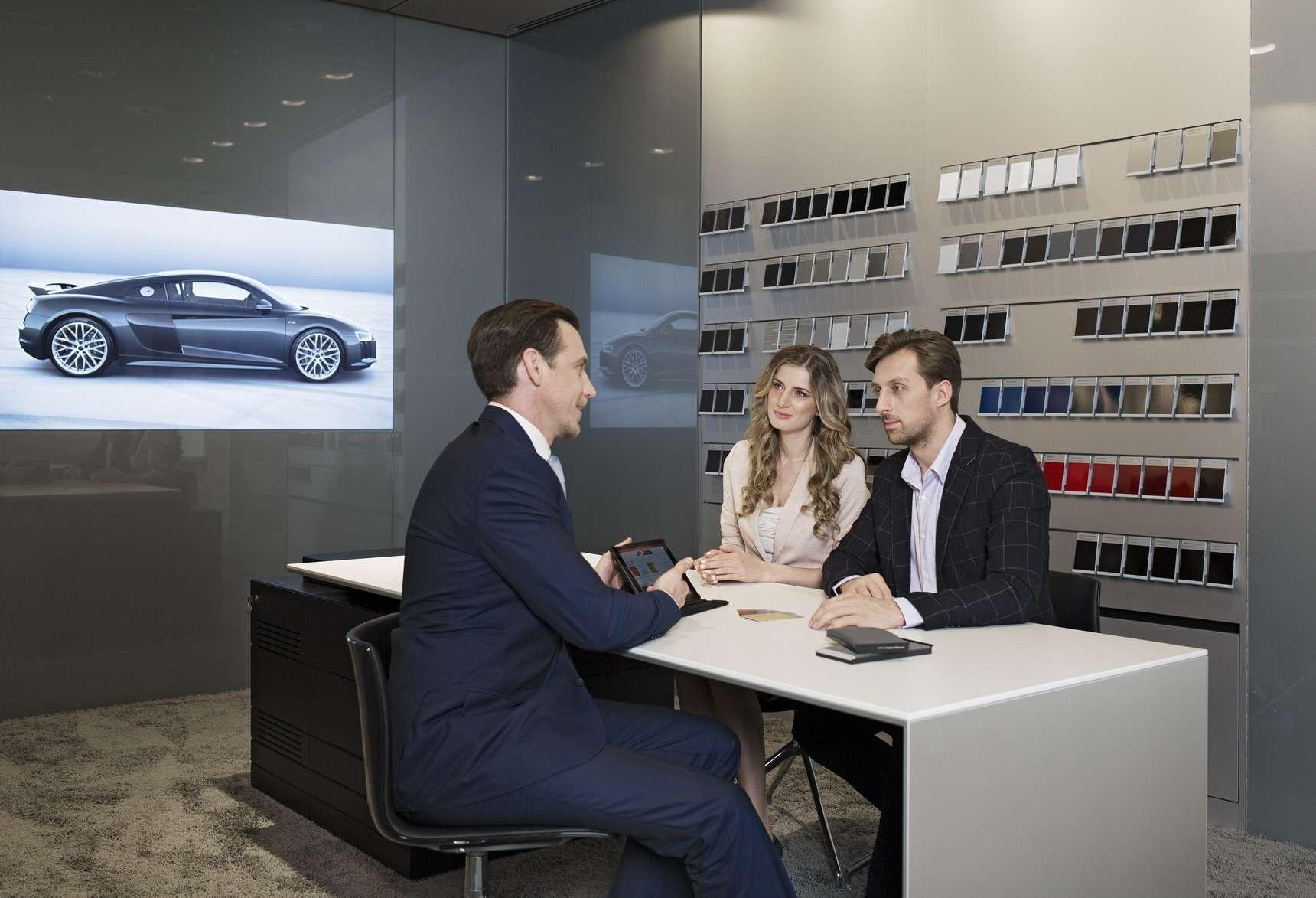 В Москве построили город Audi— фото 603938