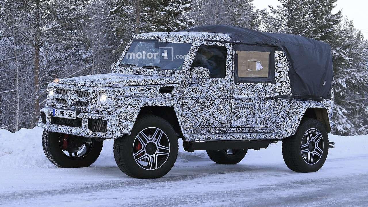 «Гелик»-титан: Mercedes-Benz выкатил новый G-класс 4x4² - фото 693906