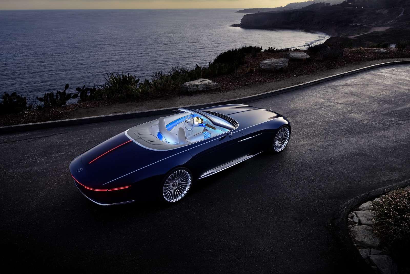 Пикник подкапотом: представлен кабриолет Mercedes-Maybach Vision 6— фото 786179