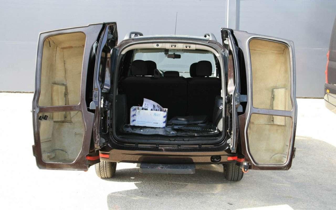 Ладе Ларгус сделали второй багажник-рюкзак— фото 1002507