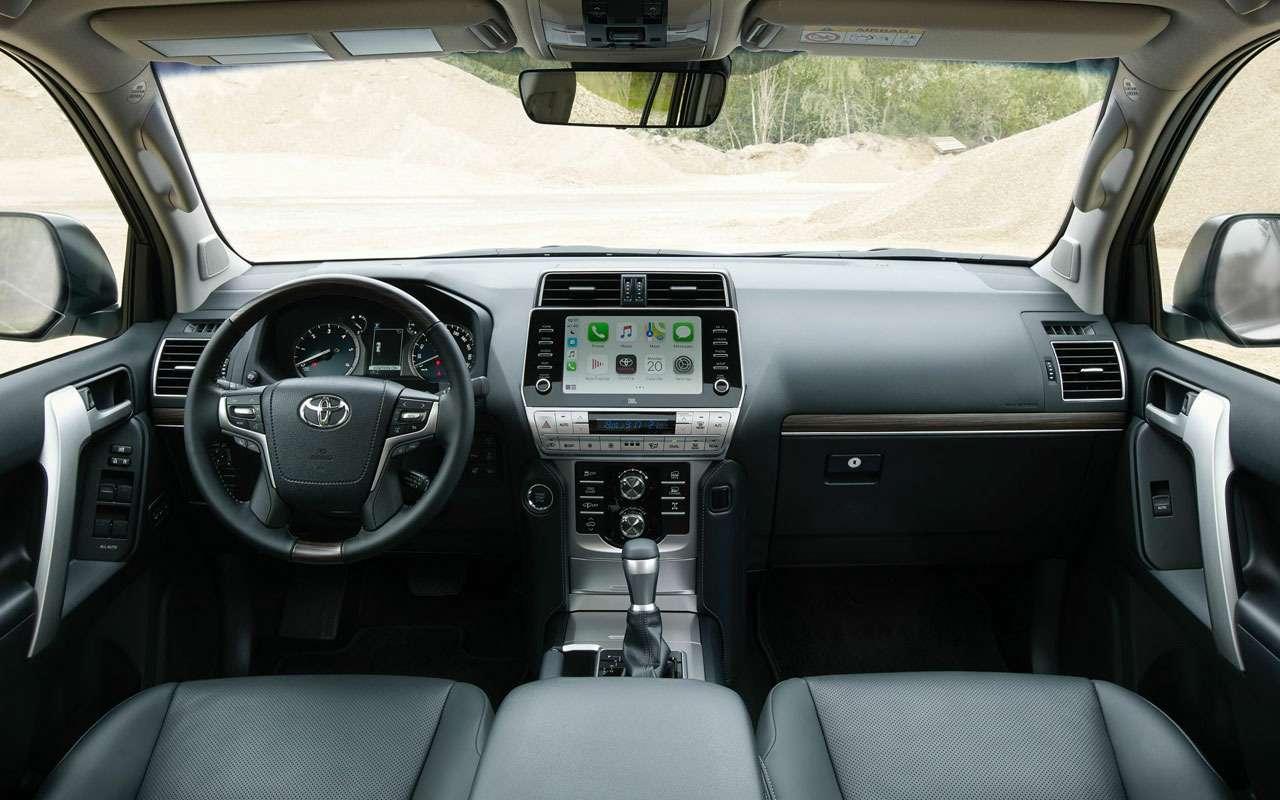 Toyota Land Cruiser Prado обновился истал мощнее— фото 1164203