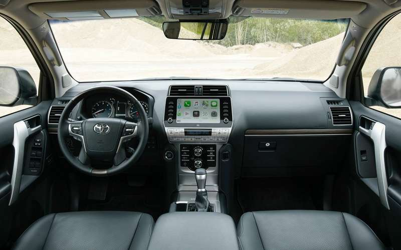 Toyota Land Cruiser Prado обновился истал мощнее