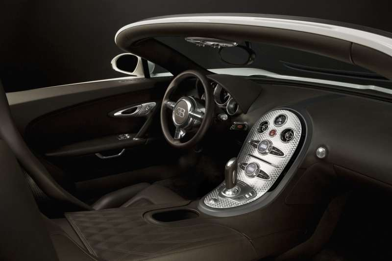 Bugatti Veyron 16.4 Grand Sport— самый быстрый родстер вмире— фото 348227