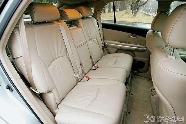 ТЕСТ: Lexus RX300и Lexus RX400h. Контакт высокого напряжения— фото 61235