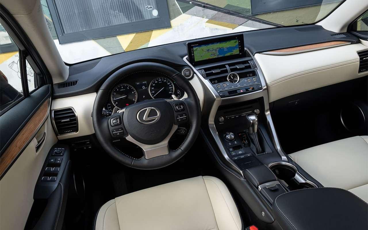 Обновленный Lexus NX— первый тест-драйв— фото 864450