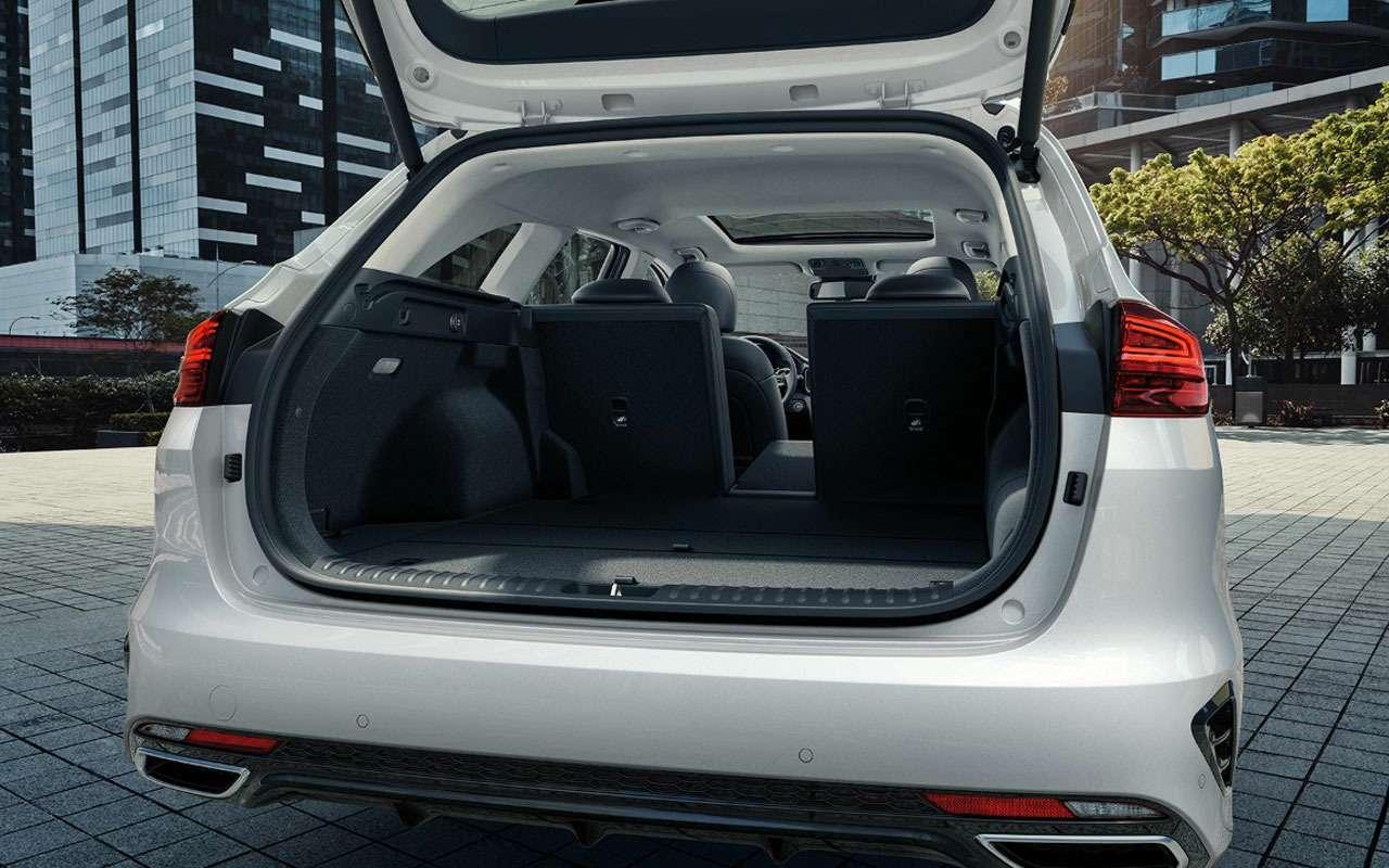 Новые версии Kia XCeed иCeed Sportswagon: гибриды недлянас— фото 994763