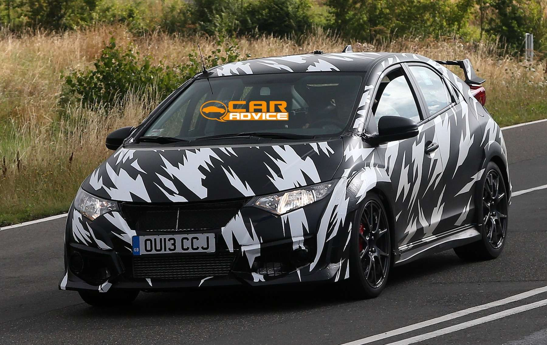 no copyright Honda Civic Type R Spied 2