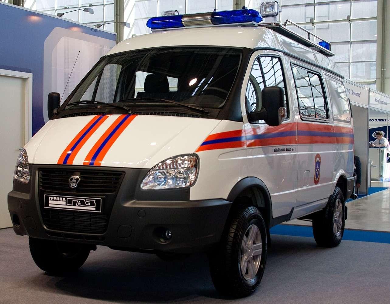 Аварийно-спасательный автомобиль Соболь-4х4