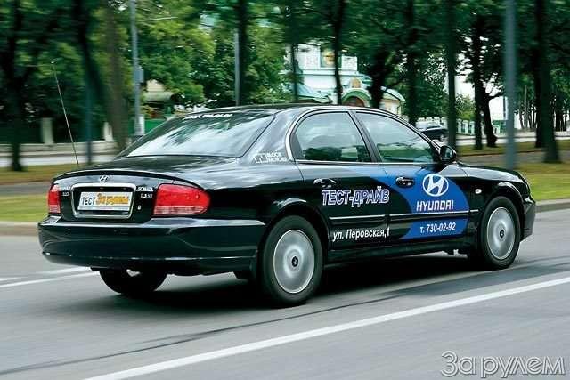 Hyundai NF, Hyundai Sonata. Налигу выше— фото 59039