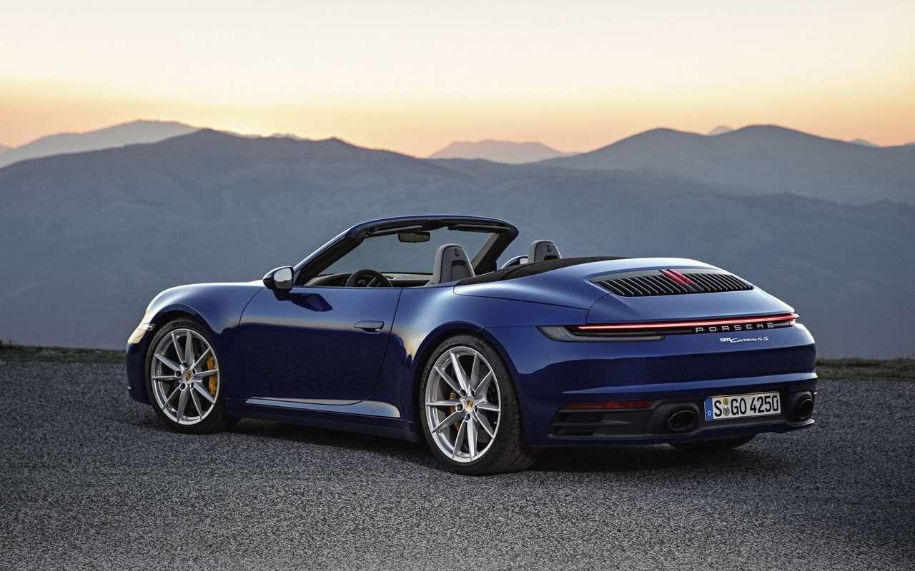 Всеоновом кабриолете Porsche 911— фото 939359