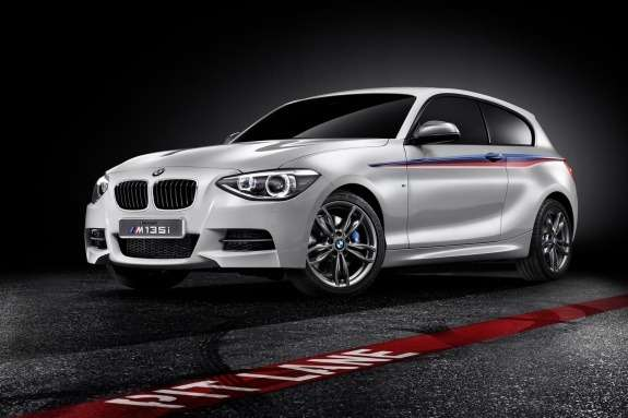 BMW M135i Concept side-front view