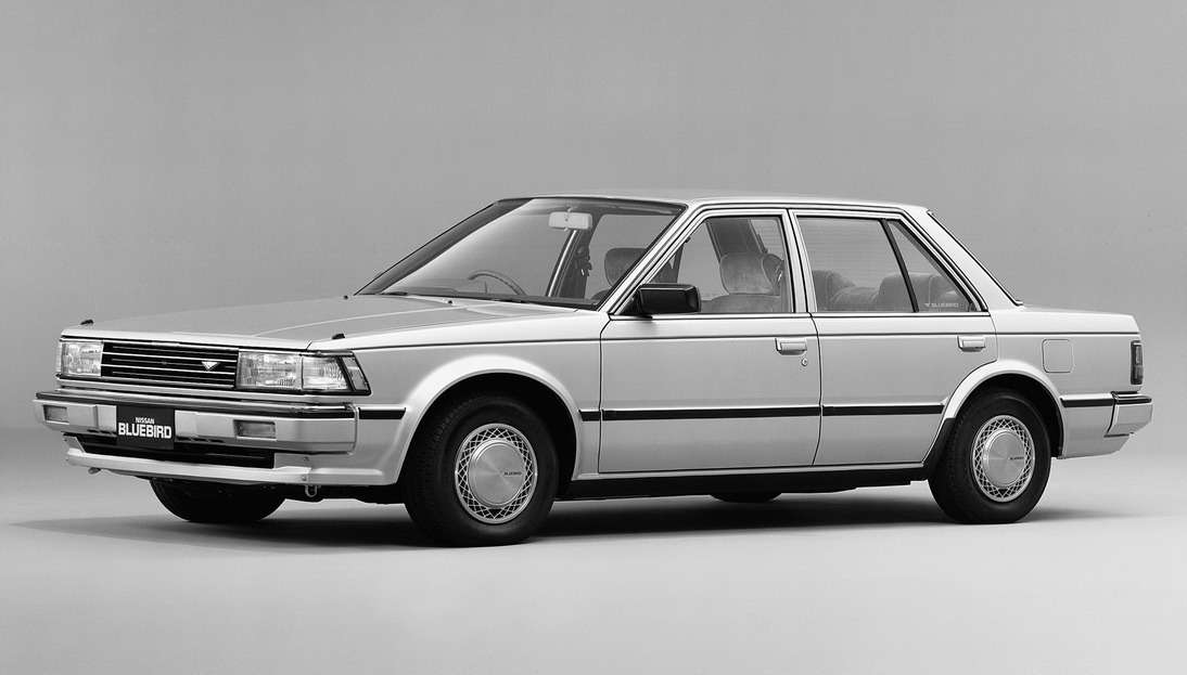 Nissan Bluebird (U11) выпускался с1983по 1985 год. Крупноузловая сборка вВеликобритании не пользовалась успехом