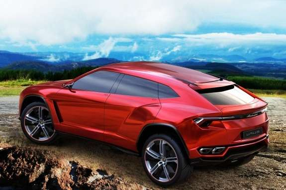 Lamborghini Urus Concept side-rear view 2