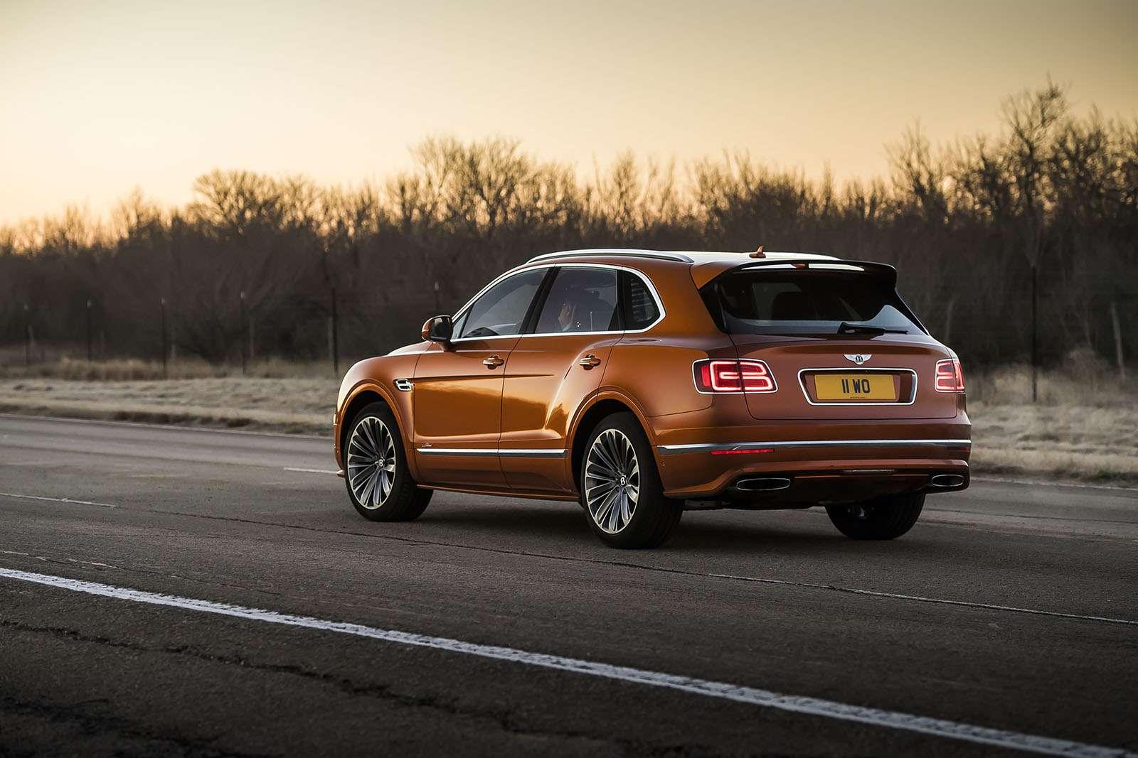 Самый быстрый внедорожник— теперь это Bentley— фото 949167