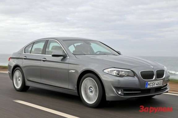 BMW 5-Series side-front view