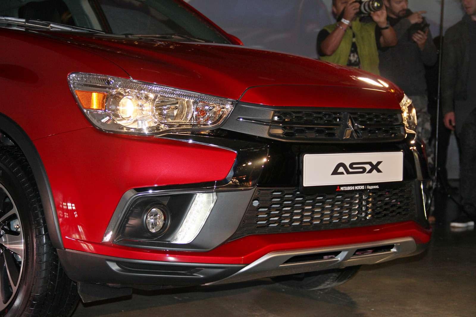 Mitsubishi представила вМоскве обновленный кроссовер ASX— фото 798316