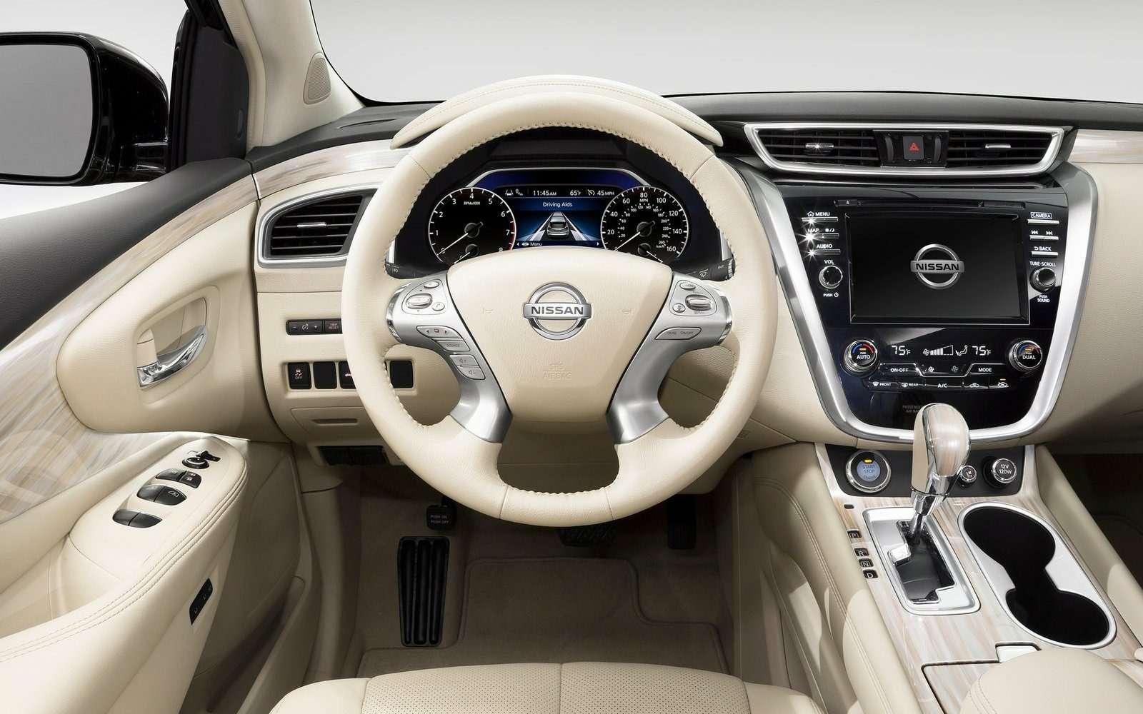 Новый Nissan Murano начали собирать вРоссии— фото 600527