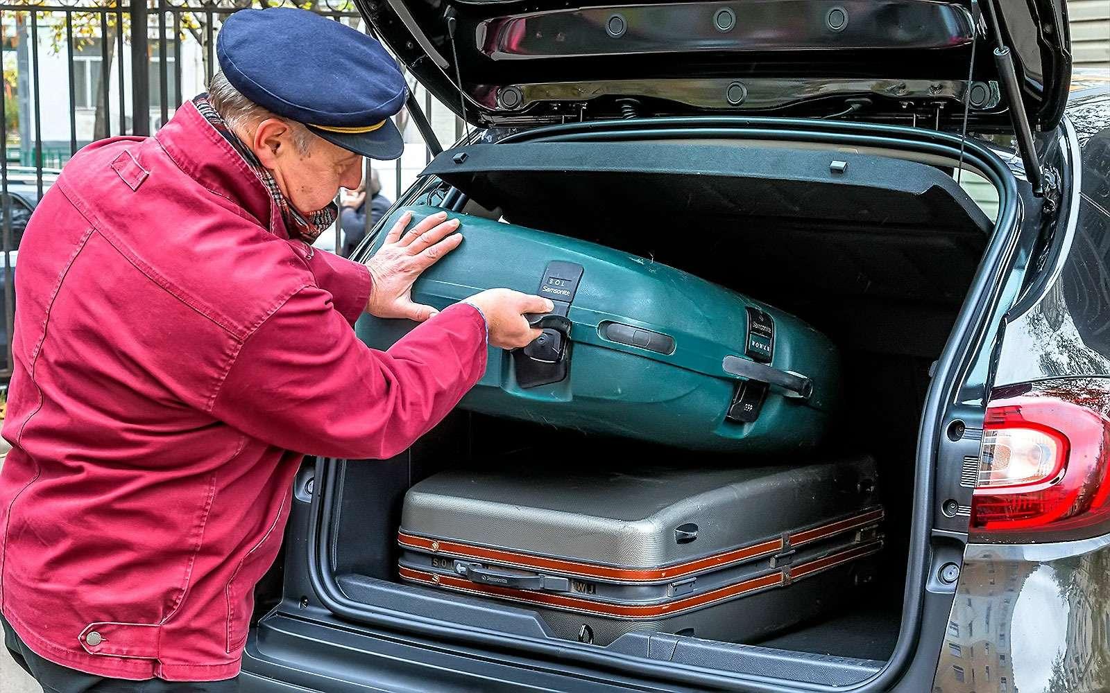 Багажник Renault Kaptur