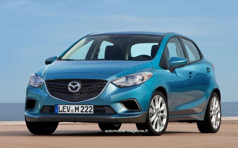 nocopyright 2015 Mazda 2Rendering
