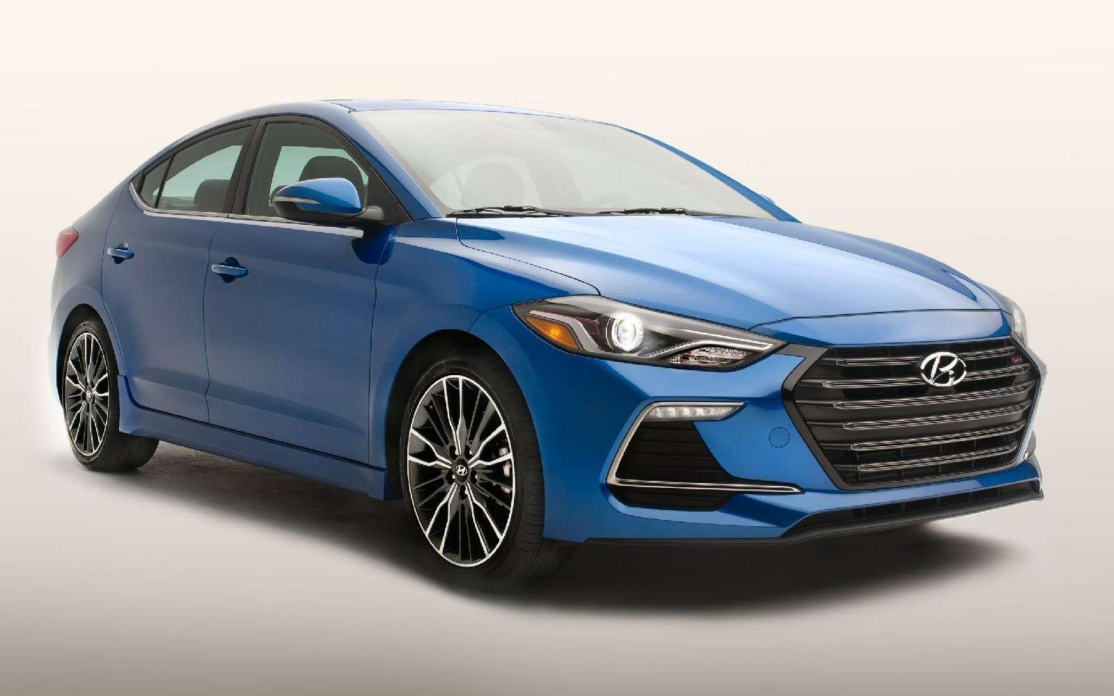 Hyundai Elantra Sport: принимай, Америка, мультилинк!— фото 607930