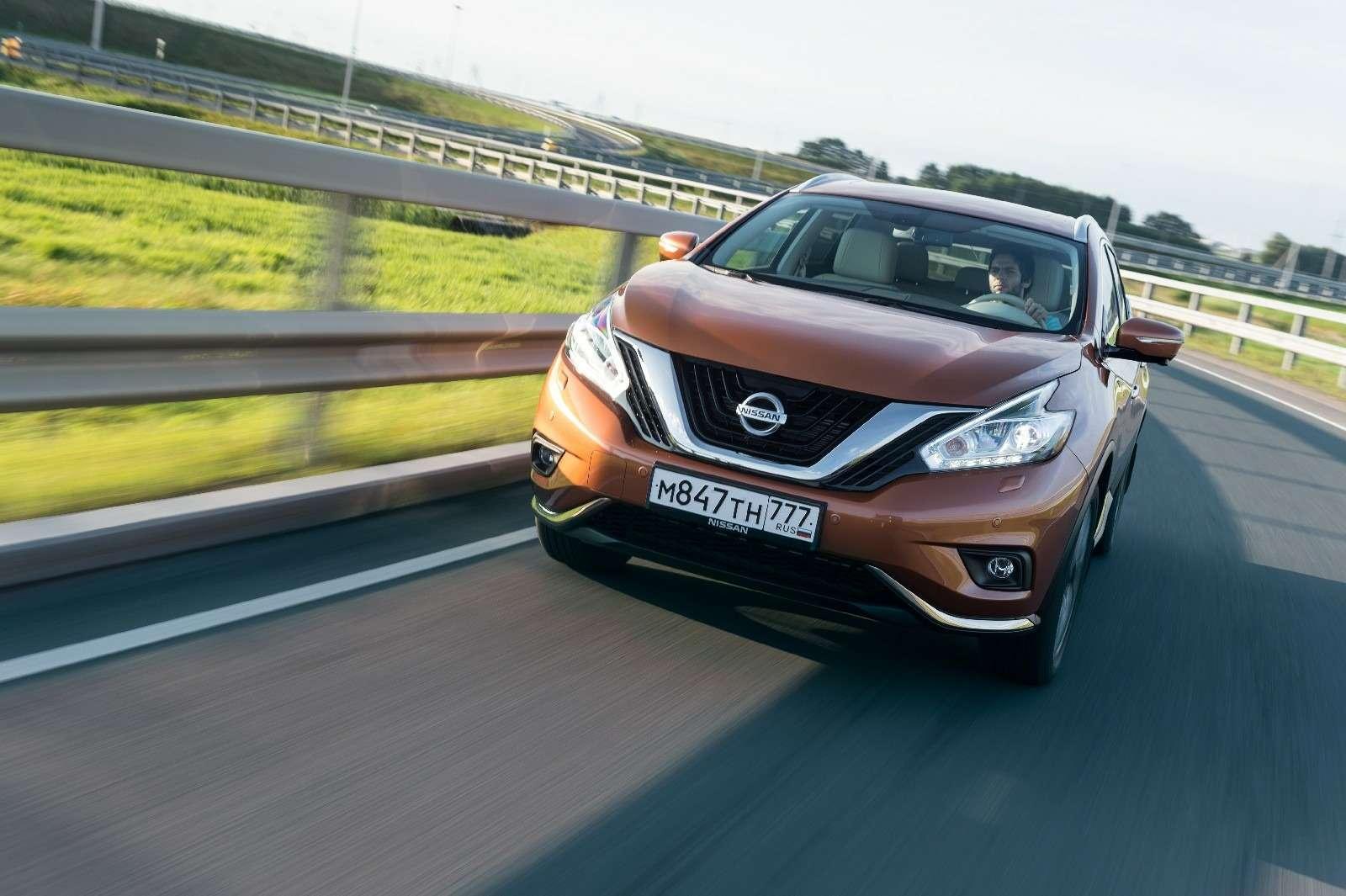 Объявлены рублевые цены нановый Nissan Murano— фото 614366