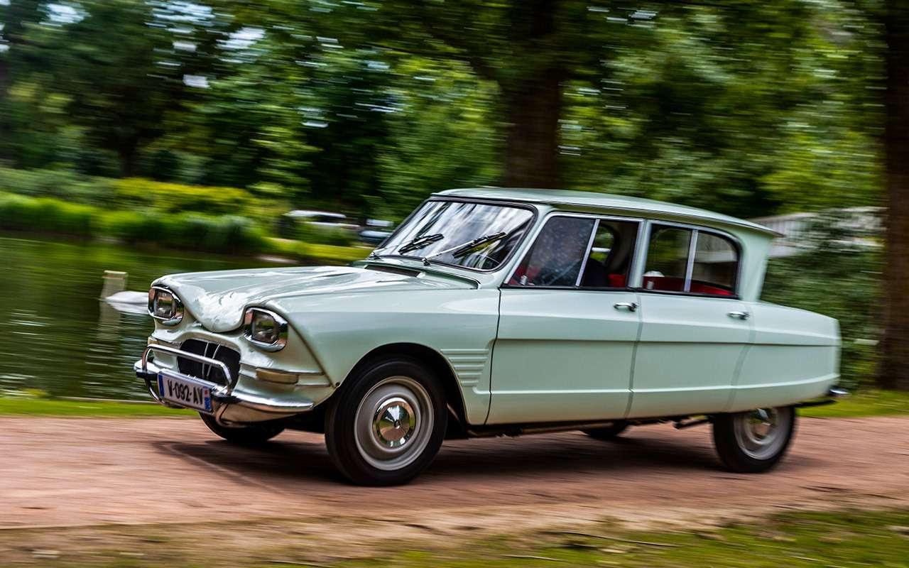 Самый массовый автомобиль Франции— ретротест местной Лады— фото 994509