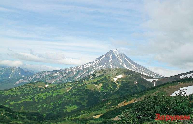 Вулкан Вилючинский. Доцивилизации осталось несколько десятков километров.