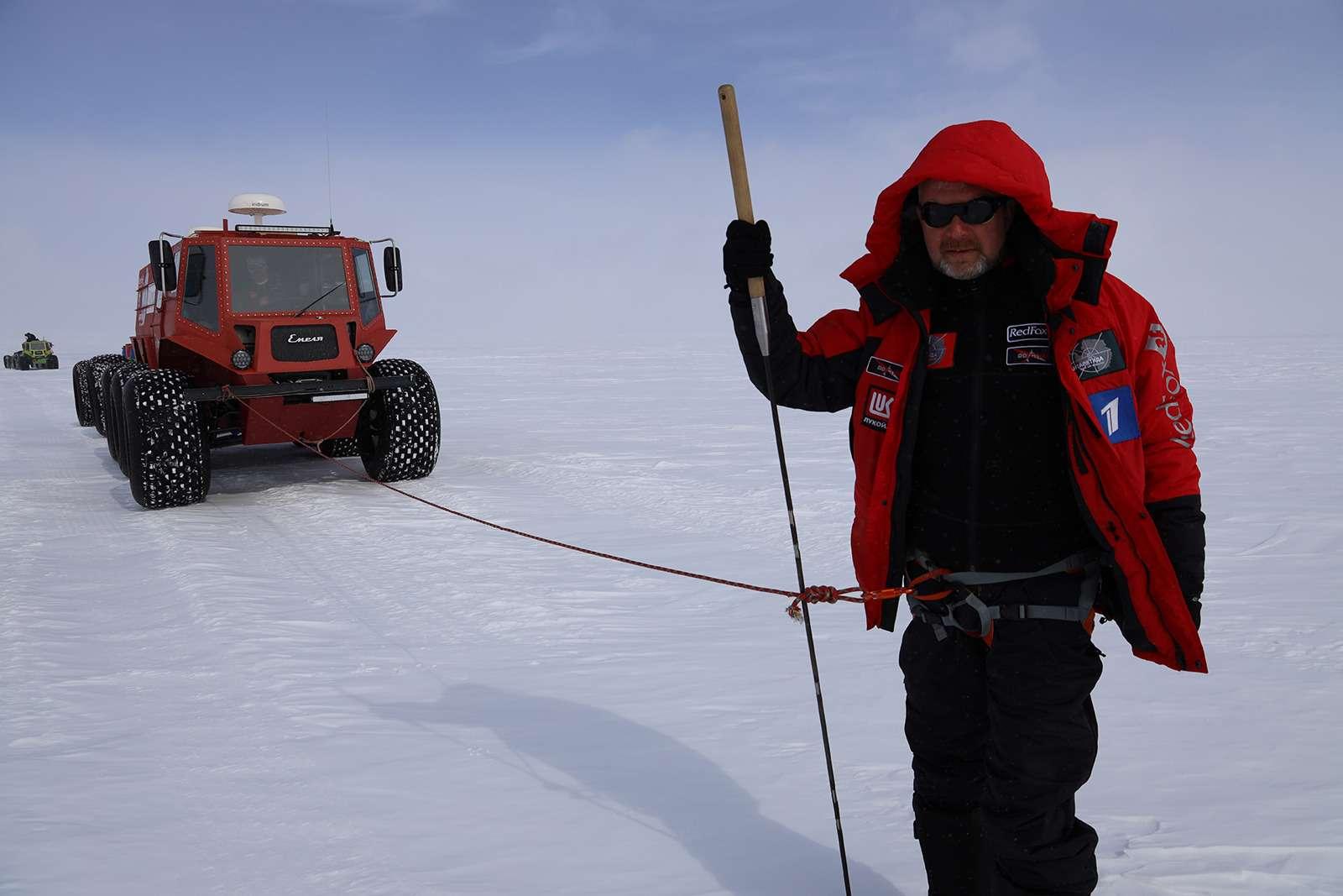 Есть рекорд: самый длинный автопробег через Антарктиду— фото 958586