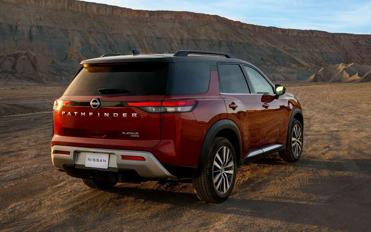 Новый Nissan Pathfinder— скоро вРоссии— фото 1221280