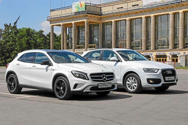 Mercedes-Benz GLA 250 4Matic иAudi Q32.0 TFSI quattro